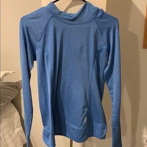 Reebok hooded running shirt